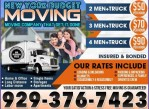 TRUST ONLY PROFESSIONAL MOVERS. $50/h INCLUDED 2 MOVERS + 20ft TRUCK*~ (CALL/TEXT FOR INSTANT QUOTE)